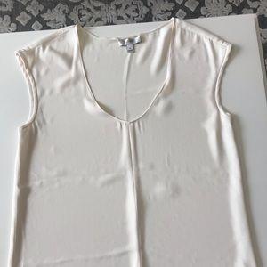 J.Crew cream blouse size 0